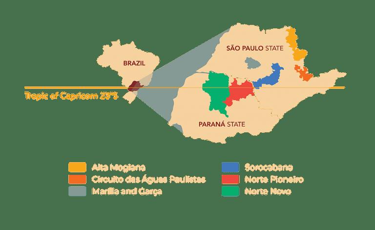 Capricornio Coffee - map