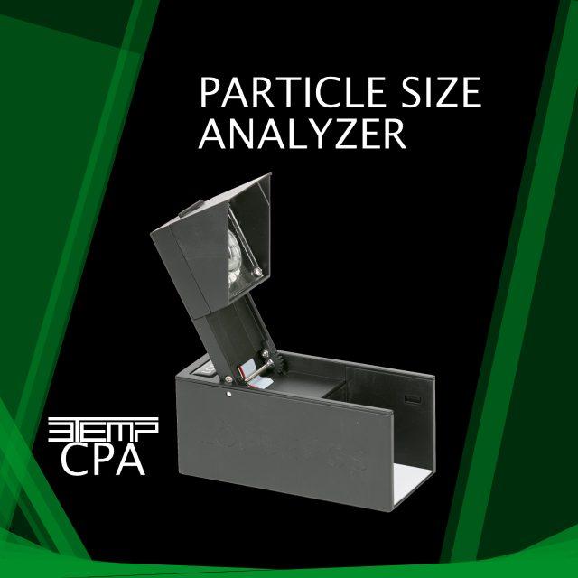 3temp Particel Size analyser