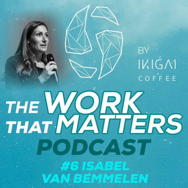 Isabel van Bemmelen in the Ikigai coffee podcast